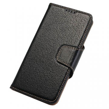 Yak Skin Genuine leather Wallet Stand Case For Samsung Galaxy S7