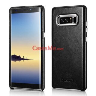 ICARER Samsung Galaxy Note 8 Transformer Vintage Back Cover Black