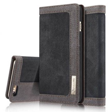CaseMe 006 iPhone 6S/6 Jeans PU Leather Stand Wallet Case