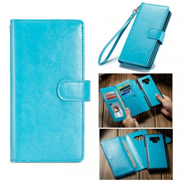 BRG Samsung Galaxy Note 9 Magnetic Detachable 2 in 1 Case Blue