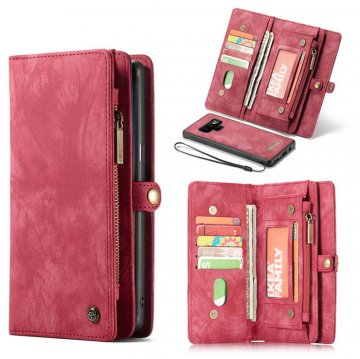 CaseMe Samsung Galaxy Note 9 Wallet Magnetic Detachable Case Red