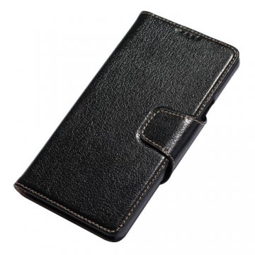 Yak Skin Genuine Leather Wallet Stand Case For Samsung Galaxy Note 5