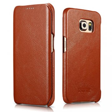 ICARER Litchi Pattern Series Case For Samsung Galaxy S6 Edge