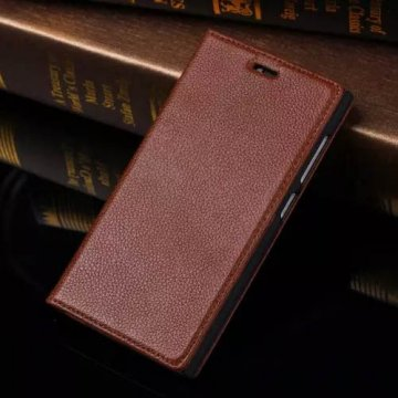 Litchi Pattern Genuine Leather Casual Stand Case For XiaoMi Mi 3