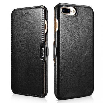 iCarer iPhone 7 Plus Luxury Side Open Genuine Leather Case