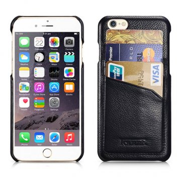 ICARER Litchi Pattern Card-slot Back Cover Series For iPhone 6 Plus/ 6S Plus