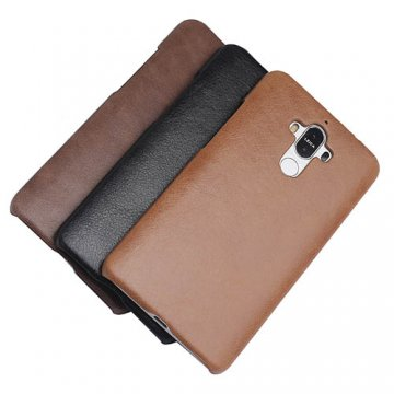 Genuine Leather Matte Huawei Mate 9 Hard Back Cover Case
