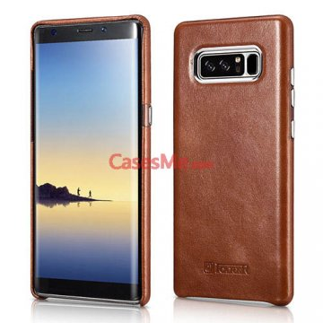 ICARER Samsung Galaxy Note 8 Transformer Vintage Back Cover Brown
