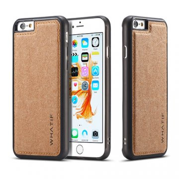 WHATIF iPhone 6S/6 Waterproof Kraft Paper DIY Cover Brown