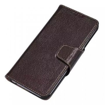 Yak Skin Genuine Leather Wallet Stand Case For Samsung Galaxy S6 Edge Plus