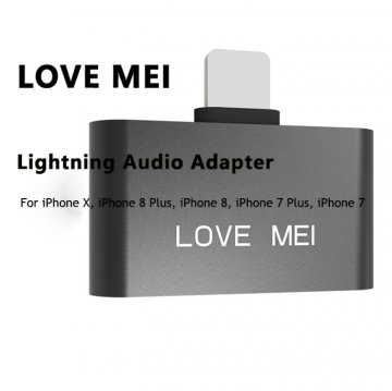 Love Mei Lightning Adapter for iPhone X/ 8/ 8 Plus