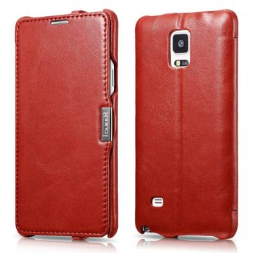 ICARER Vintage Series Side-open Case For Samsung Galaxy Note 4