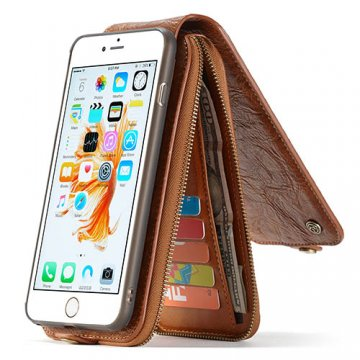 CaseMe iPhone 6S Plus/6 Plus Zipper Wallet Case