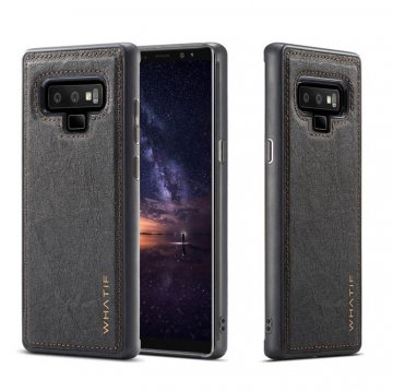 WHATIF Samsung Galaxy Note 9 Kraft Paper Waterproof DIY Cover Black