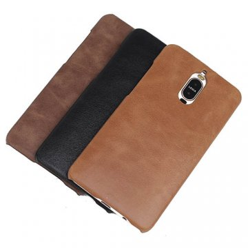 Genuine Leather Matte Huawei Mate 9 Pro Hard Back Cover Case