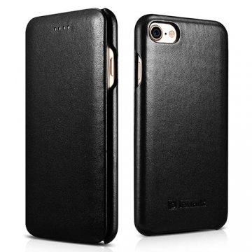 iCarer iPhone 7 Curved Edge Luxury Genuine Leather Case