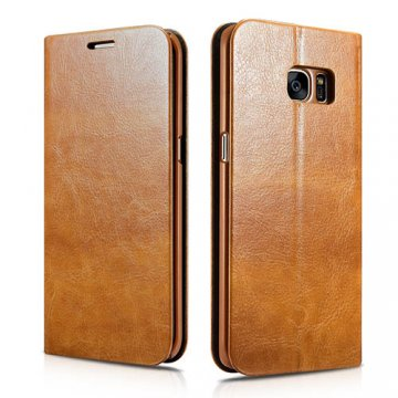 XOOMZ Samsung Galaxy S7 Edge Knight PU Leather Stand Folio Case