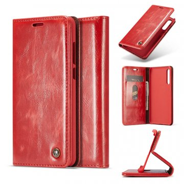 CaseMe Huawei P20 Pro Wallet Magnetic Flip Case Red