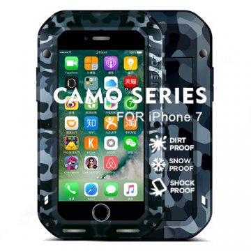 Love Mei Camo Series Powerful iPhone 7 Protective Case