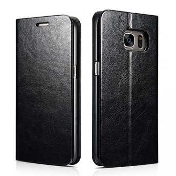 XOOMZ Samsung Galaxy S7 Knight PU Leather Stand Folio Case