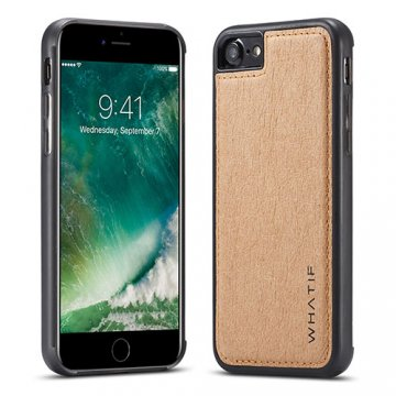 WHATIF iPhone 7 Waterproof Kraft Paper DIY Cover Brown