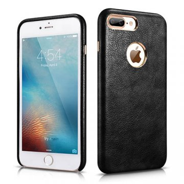 XOOMZ iPhone 7 Plus Liquidmetal Premium PU Leather Back Cover Case