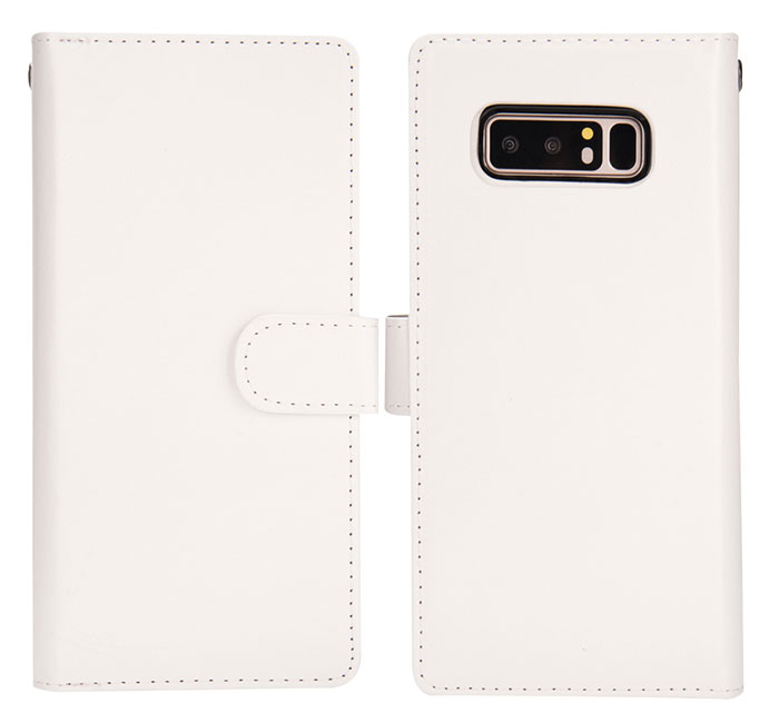 BRG Samsung Galaxy Note 8 Detachable 9 Card Slots Wallet Magnetic Case