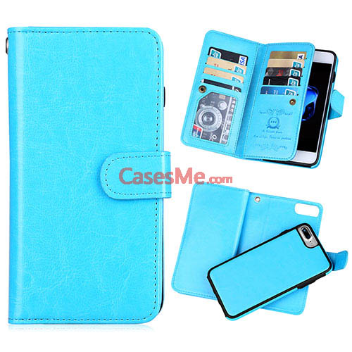iphone 8 blue wallet case