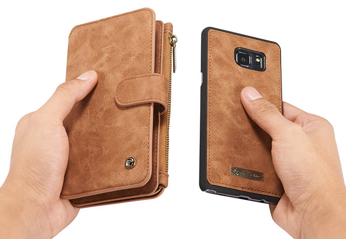 CaseMe Samsung Galaxy Note 8 Wallet Detachable Flip Case