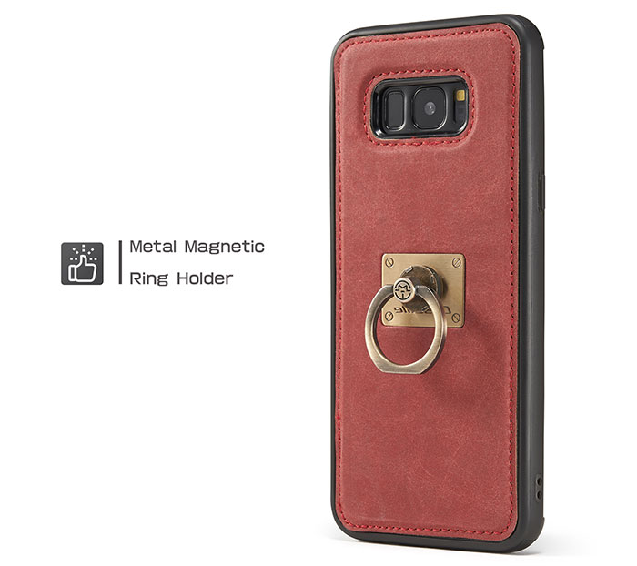 CaseMe Samsung Galaxy S8 Plus Detachable Ring Stand Magnetic Back Cover