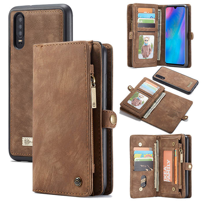 P30 Phone Cases Ultra Slim Huawei P30 Leather Case Flip//Folio Phone Cover Full Protection Kickstand Huawei P30 Case Wallet Huawei P30 Cases with Card Holder Magnetic Closure Rose Gold