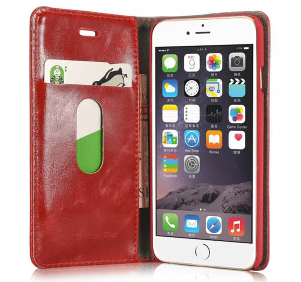 CaseMe 003 iPhone 6S/6 Business Style Magnetic Leather Wallet Case