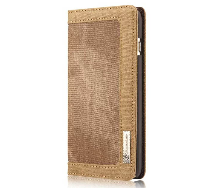 CaseMe 006 iPhone 6S Plus/6 Plus Jeans PU Leather Stand Wallet Case