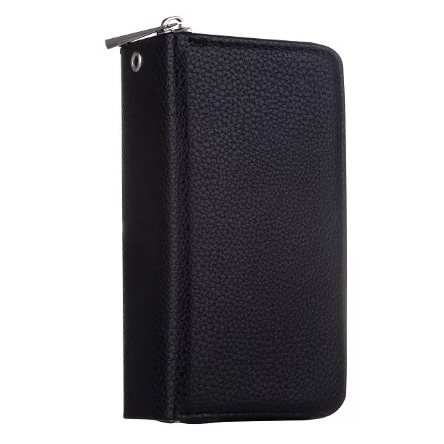 Litchi Pattern Samsung Galaxy S7 Edge Multi-function 2 in 1 Zipper Wallet Magnetic Detachable Leather Case Cover