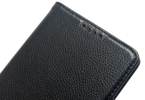 Litchi Pattern Genuine Leather Casual Wallet Stand Case For LG V10