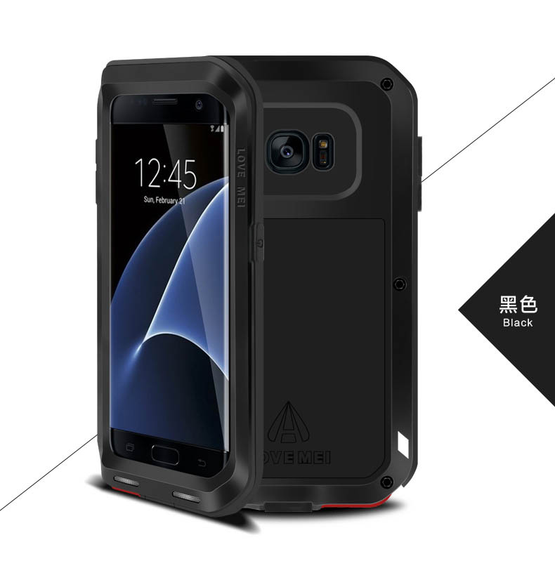 Love Mei Powerful Protective Case For Samsung Galaxy S7 Edge