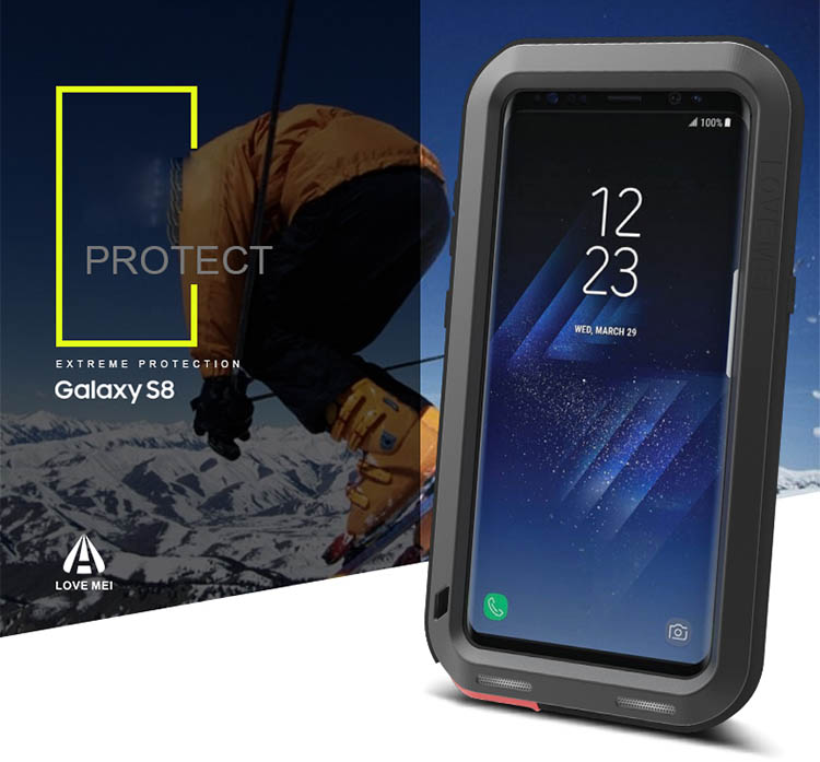Love Mei Powerful Samsung Galaxy S8 Protective Case
