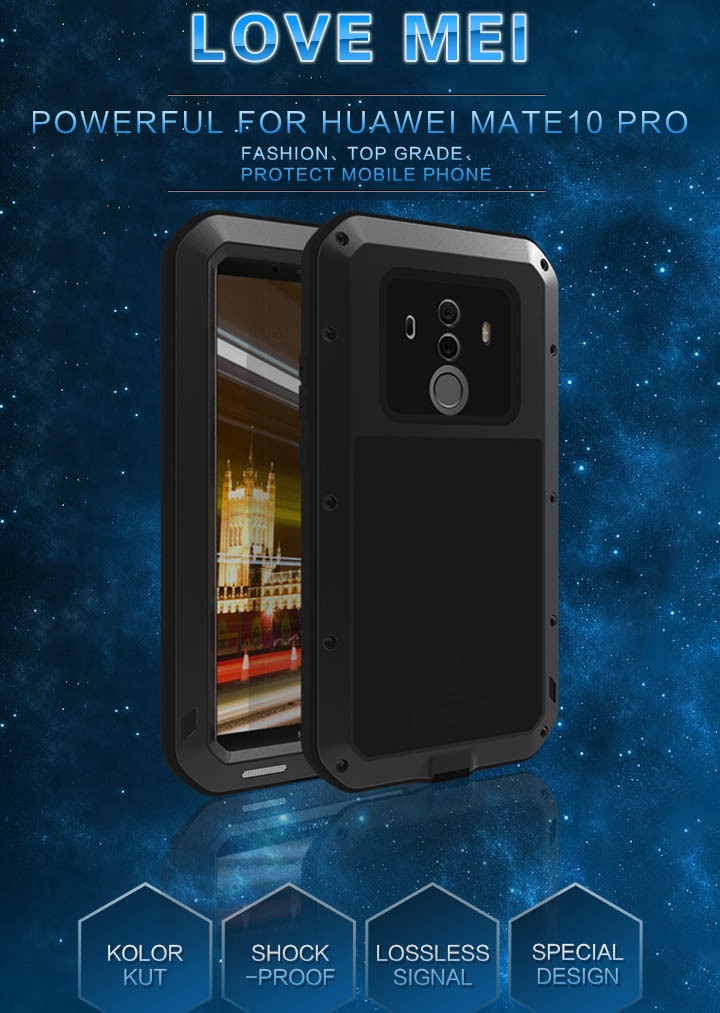 Love Mei Powerful Huawei Mate 10 Pro Protective Case