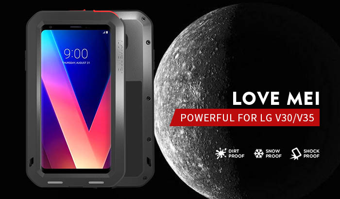 Love Mei Powerful LG V35 ThinQ Protective Case