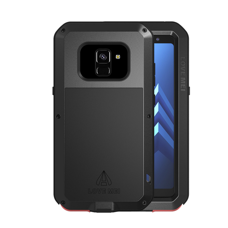 innovative design f963a 97b50 Love Mei Powerful Samsung Galaxy A8 Plus 2018 Protective Case