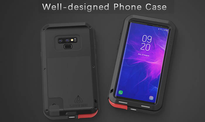the latest eb8db 7781d Love Mei Powerful Samsung Galaxy Note 9 Protective Case