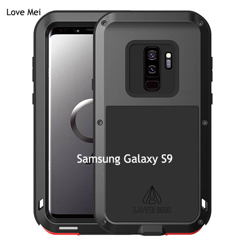 sale retailer c25fc 6cf61 Love Mei Powerful Samsung Galaxy S9 Protective Case