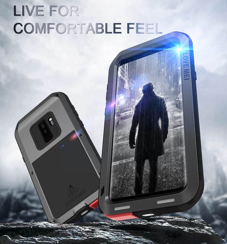 timeless design 66b35 93d4f Love Mei Powerful Samsung Galaxy S9 Plus Protective Case