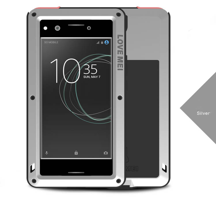low priced 2efb6 2b060 Love Mei Powerful Sony Xperia XZ Premium Protective Case