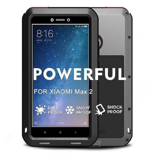 Love Mei Powerful Xiaomi Mi Max 2 Protective Case
