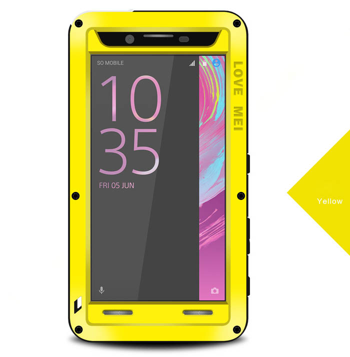 Love Mei Powerful Sony Xperia X Performance Protective Case