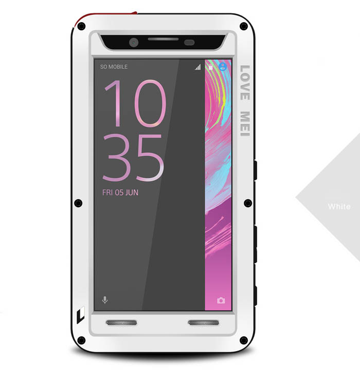wholesale dealer 2d578 8bfd4 Love Mei Powerful Sony Xperia X Performance Protective Case