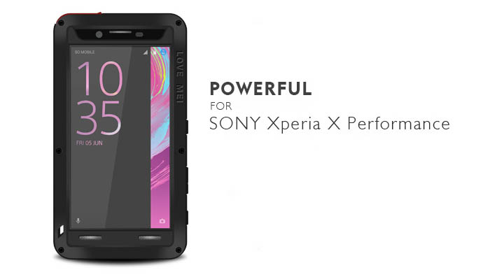 wholesale dealer dd45c f0aa1 Love Mei Powerful Sony Xperia X Performance Protective Case