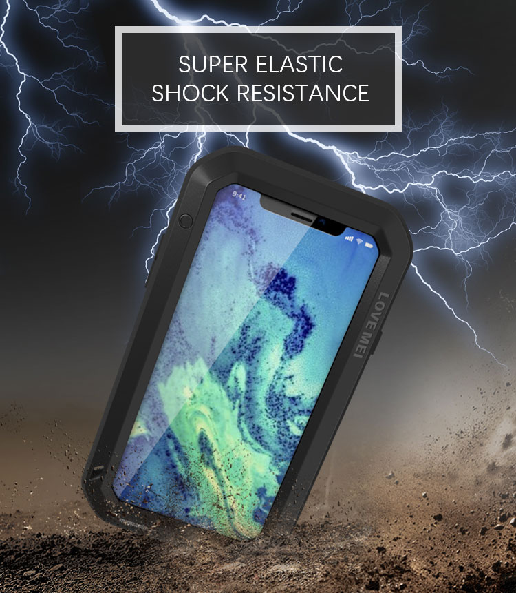 Love Mei Powerful iPhone X Protective Case