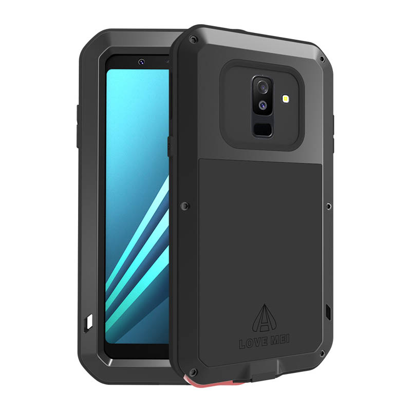 new style 235a8 83b43 Love Mei Powerful Samsung Galaxy A6 2018 Protective Case